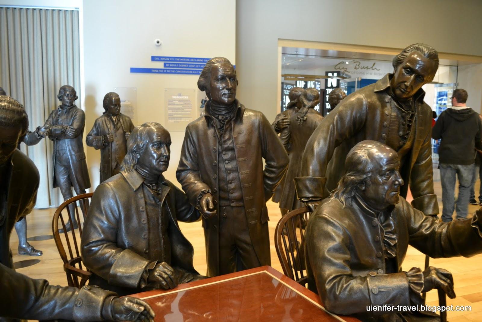 Музей Конституции, Филадельфия, Пенсильвания (National Constitution Center, Philadelphia, PA)