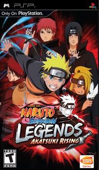 Naruto Shippuden Legends Akatsuki Rising PSP PPSSPP download