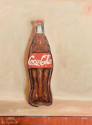 #Cocacola#Coke#artforsale#cynthiar#costarica#artedonypasionblog