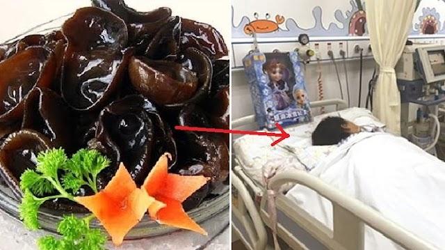 Akibat Makan Jamur Hitam, Sekeluarga Masuk Rumah Sakit