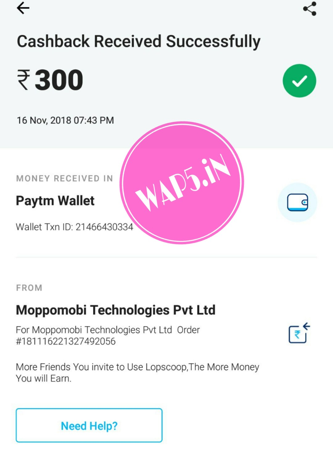 Unlimited Trick + ₹4000 Proof Added] LopScoop App – Refer Friends