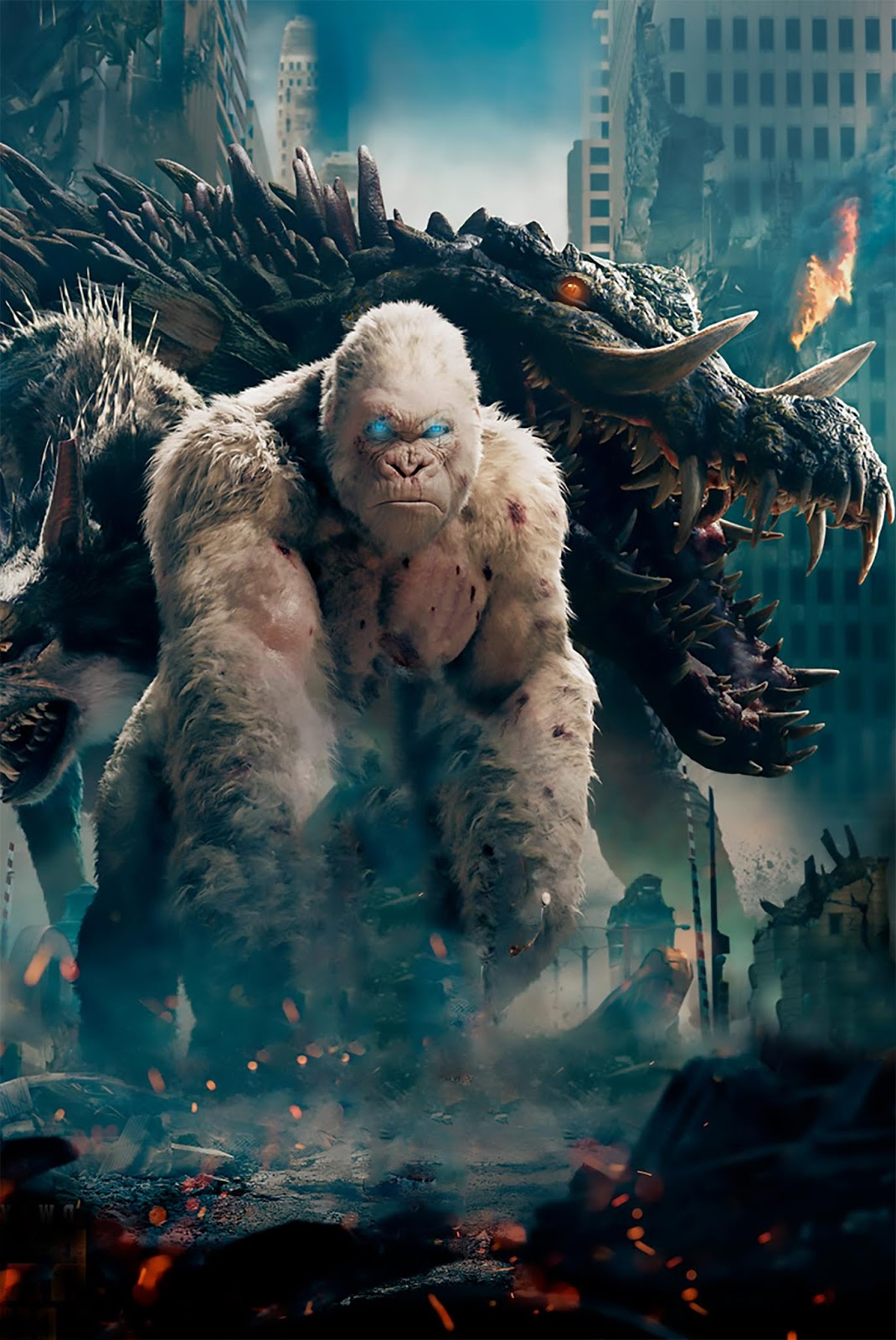 Rampage Movie Poster Editing Png Image Background Download