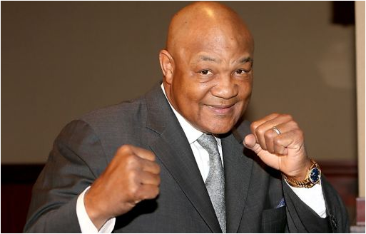 George Foreman Tribute to Lyndon B. Johnson Scholarship
