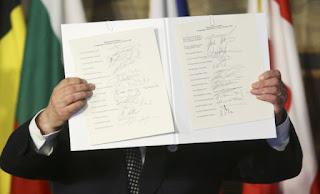 Οι ηγέτες της Ευρωπαϊκής Ένωσης υπέγραψαν τη Διακήρυξη της Ρώμης