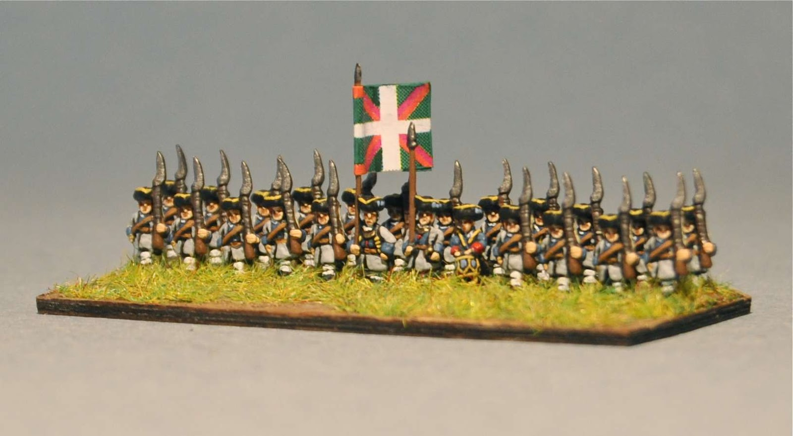 J White's Gallery: 6mm French Line Infantry from the Seven