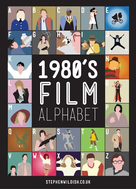 A-Z of 80s Film - how many can you guess?