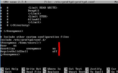 admin akan mulai menciptakan sedikit tutorial menggunakan debian  Cara Setting Anonymous FTP Debian 9 Dengan Proftpd