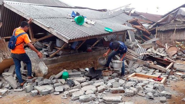 83 Earthquakes And Hundreds Injured In Indonesia Earthquake Shock