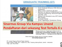 Graduate Training - Sinarmas Group Via Campus Unand
