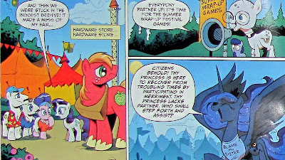 The first appearance of Princess Luna