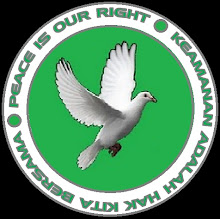 PEACE IS OUR RIGHT!