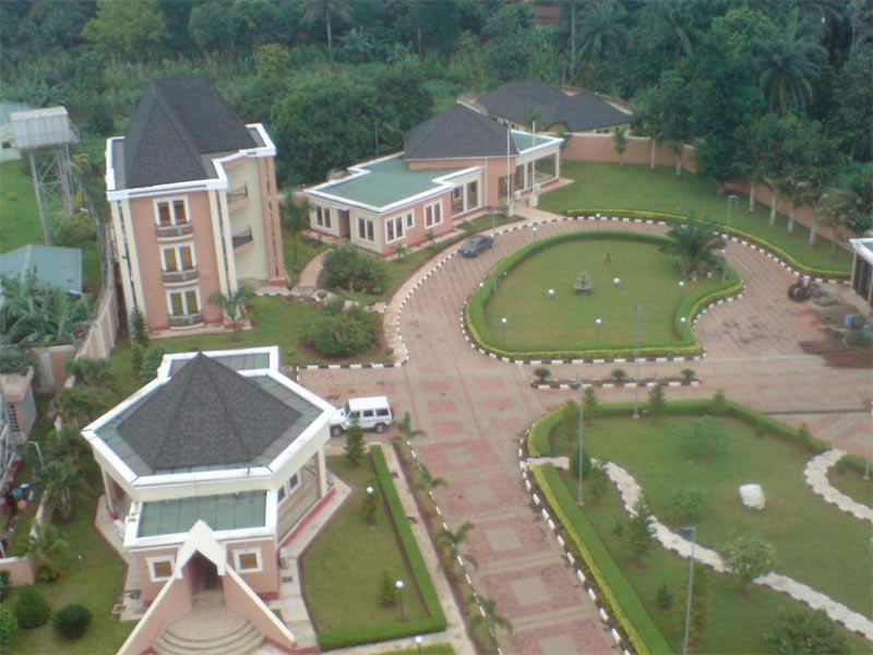 Photos of Anambra billionaire Obijackson's mansions in Okija