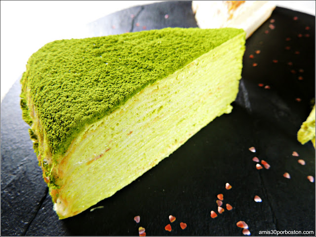 Lady M: Green Tea Mille Crêpes