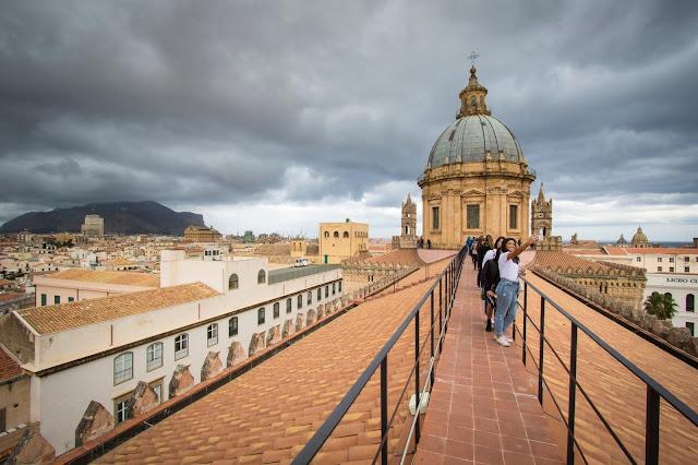 Tetto Cattedrale Maria SS. Assunta-Palermo