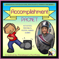 Accomplishment Character Education - Social Skills Teaching Packet
