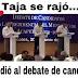 """Tunden a Taja en las redes sociales por """"rajarse"""" al debate de Grupo ACA"""