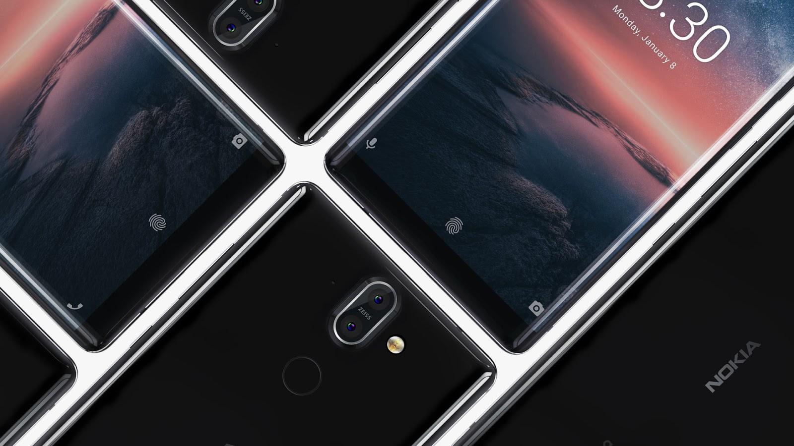 Nokia 8 Sirocco receives Android Pie update   LoveNokia