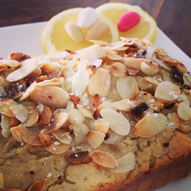 Sweet Kwisine, cake, végétal, tofu soyeux, amandes, citron