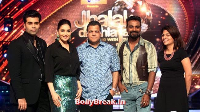Madhuri Dixit and Raj Nayak, Jhalak Dikhhla Jaa Season 7 Grand Launch Pics