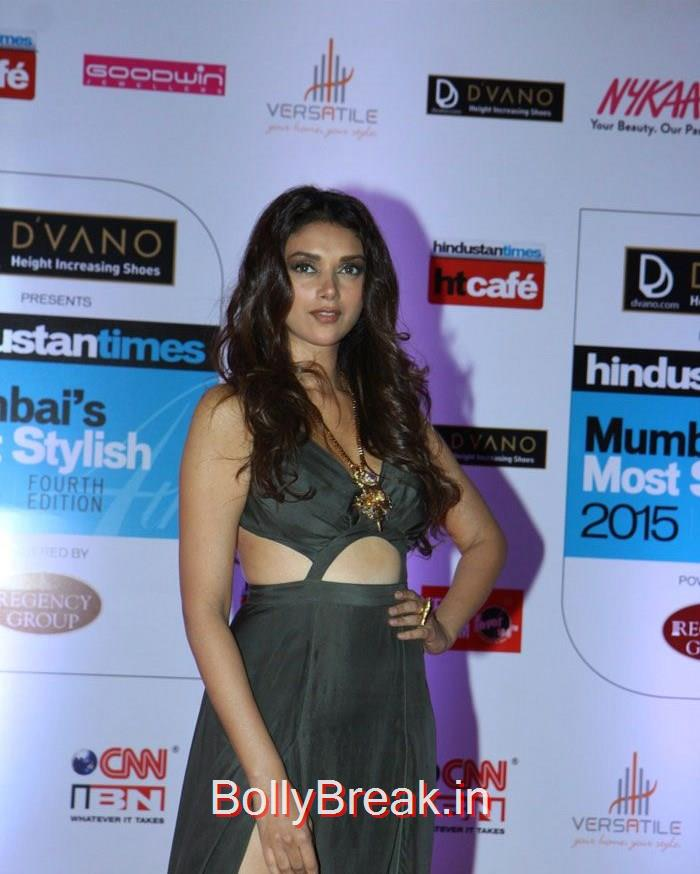 Aditi Rao Hydari, Mumbai's Most Stylish Awards 2015 Full Photo Gallery