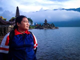 Natural And Spiritual Atmosphere At Mountain Lake Ulun Danu Bratan Temple, Bedugul, Tabanan, Bali, Indonesia