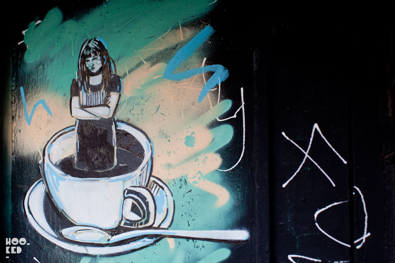 Alice Pasquini - London Street Art