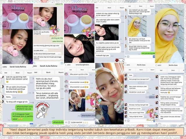 Testimoni Pelanggan Elora Beauty Organic BPOM 2