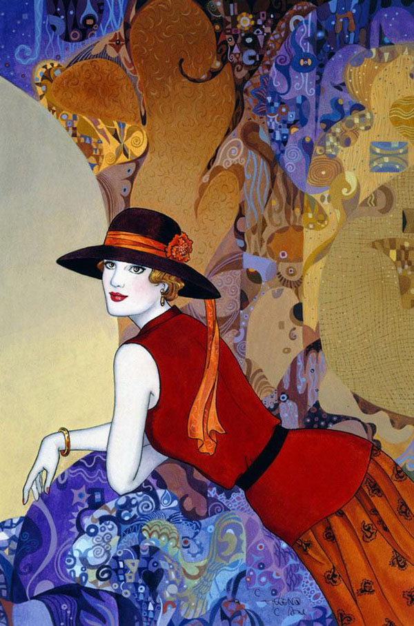 Helen Lam | Chinese-born Canadian Art Déco painter