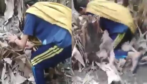 VIDEO LUCU: Pria Ini Jatuh Bangun Menangkap Hewan Misterius, Hasilnya Sungguh Mengejutkan!