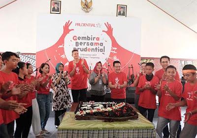 Andik Lapas Tangerang Gembira Bersama Prudential