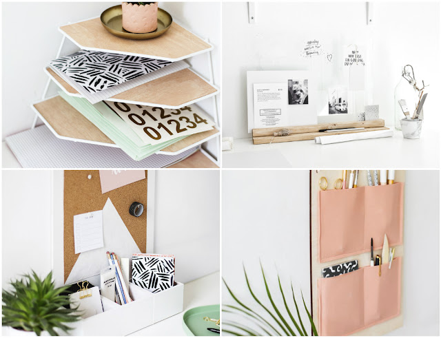 DIY organizadores para home office