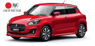 Suzuki Swift a castigat premiul RJC Car of the Year 2018