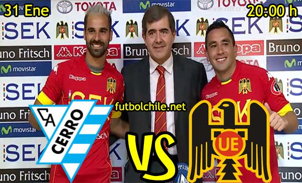 Ver stream hd youtube facebook movil android ios iphone table ipad windows mac linux resultado en vivo, online: Atlético Cerro vs Unión Española