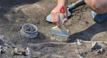 Біля замку розкопали комору ХІХ століття