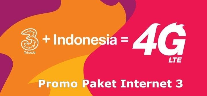 PROMO Paket Internet 3