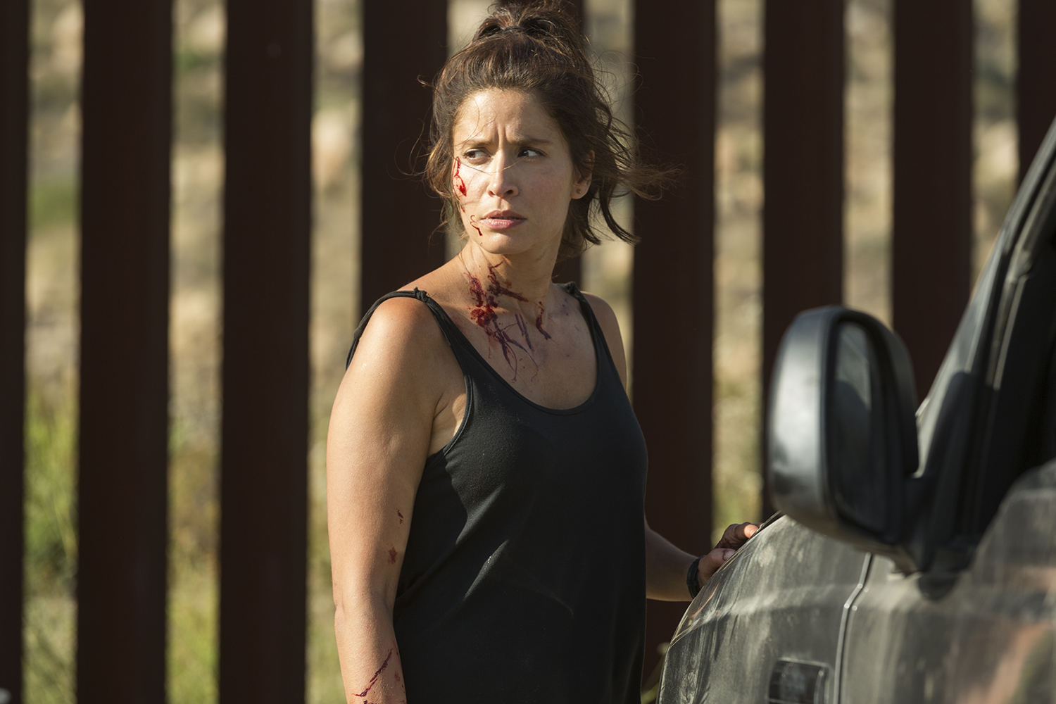 Ofelia en el episodio catorce de la segunda temporada de Fear The Walking Dead