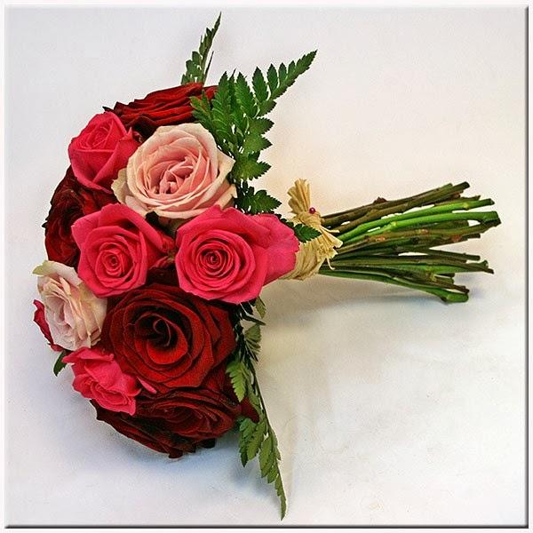 Bouquets y Ramos de Bodas Color Rojo, parte 2