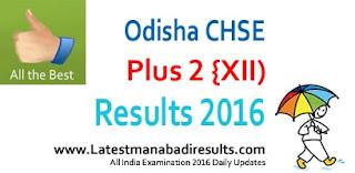 Odisha CHSE Result 2016, Odisha Plus 2 Science Result 2016, Odisha +2 Results 2016, orissaresults.nic.in 2016 Results, Orissa Board 12th Result 2016