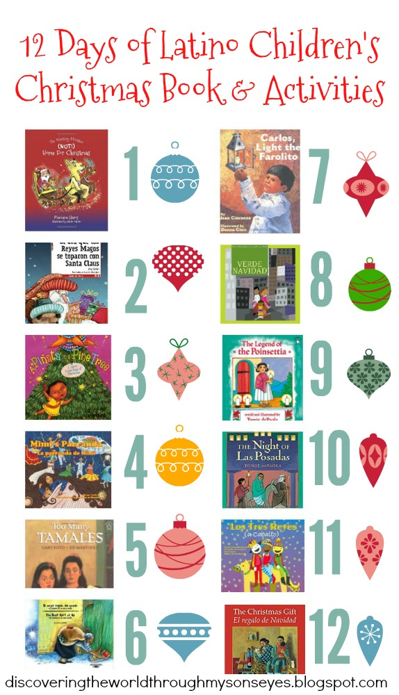12 Days of Latino Children\'s Christmas Books and Activities ...