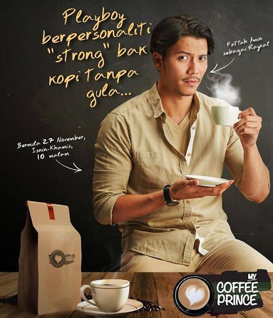 Senarai Pelakon dan Sinopsis Drama My Coffee Prince
