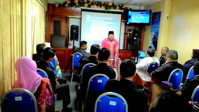 Ceramah motivasi Pekerjaan Sebagai Ibadat, Parol Kuala Lumpur
