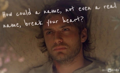 Jude Law as Inman in Cold Mountain heartbreak quote