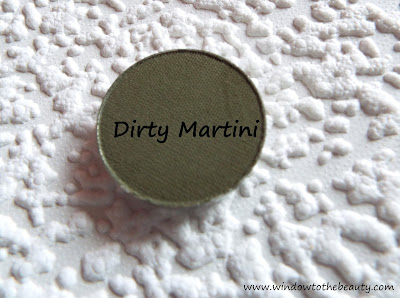 MUG Dirty Martini