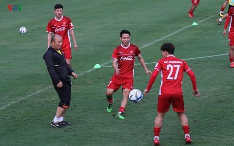 Nhận định của thầy Park về các cầu thủ