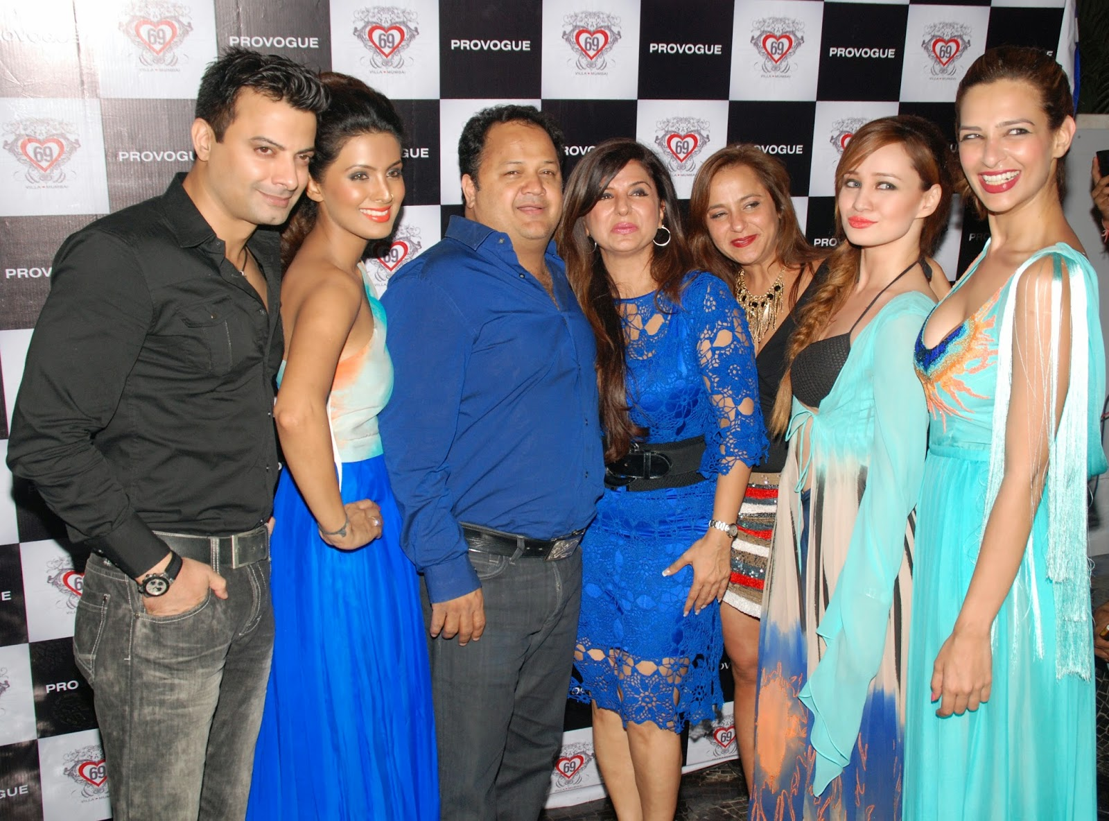 Stephanie Timmins with Salil Chaturvedi,Provogue, Babita Malkani & Geeta Basra