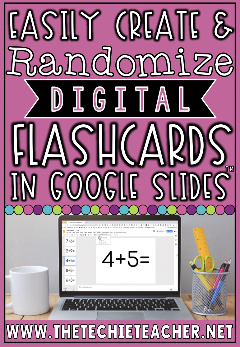 Easily Create and Randomize Digital Flashcards in Google Slides™ using the Slides Randomizer Add-On. Great for math fact practice, sight words practice, vocabulary practices, sequencing, recall of facts, and more!
