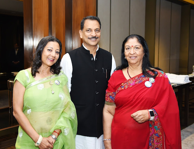 Neelam Pratap Rudy, Rajiv Pratap Rudy & Radha Bhatia