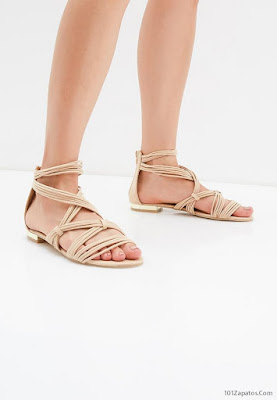 Sandalias de Moda Bajitas