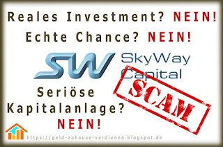 SkyWay Capital ist Betrug