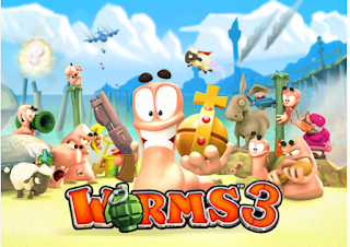 Worms 3 Games Screenshot 2